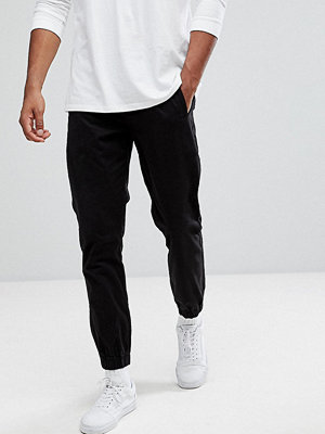 Byxor - Bellfield TALL Cuffed Chinos In Black