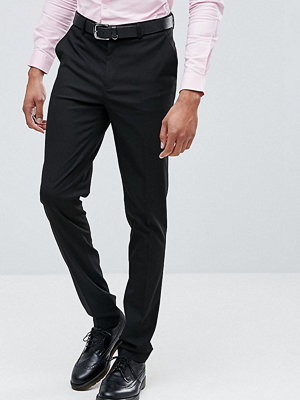 ASOS TALL Skinny Smart Trousers In Black