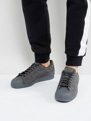 Sneakers & streetskor - Adidas Originals Superstar Trainers In Black BZ0566
