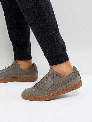 Sneakers & streetskor - Puma Suede Classic Trainers In Grey 36386901