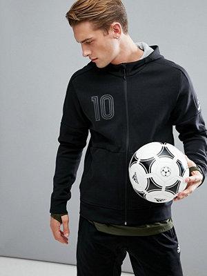 Street & luvtröjor - Adidas Tango Football Hoodie In Black BQ6886