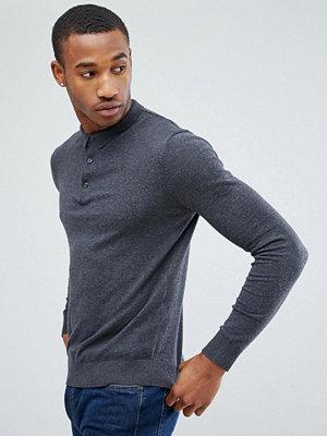 Pikétröjor - Jack & Jones Premium Knitted Polo