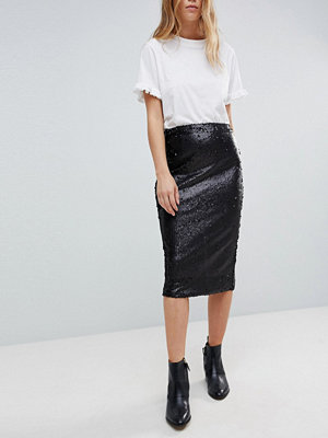 Minkpink Sequin Midi Skirt