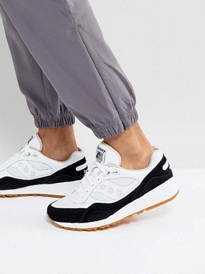 Saucony Shadow 6000 HT Perforated Trainers In White S70349-2