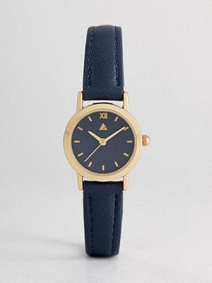 Klockor - ASOS Mini Navy Tonal Watch