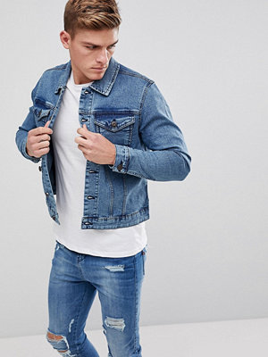 Only & Sons Light Wash Denim Jacket