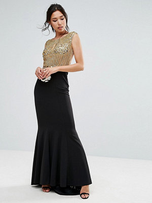 Forever Unique Embellished Body Maxi Dress