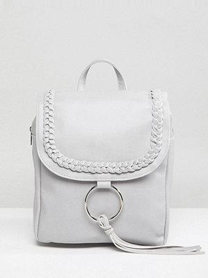 Glamorous ryggsäck Braid Detail Backpack With Ring & Tassel Detail