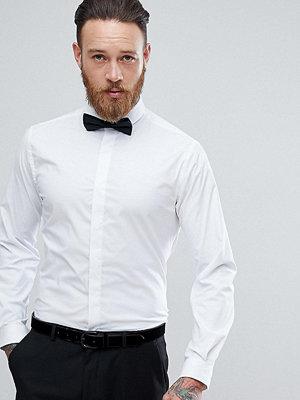 Skjortor - Heart & Dagger Skinny Shirt With Cutaway Collar