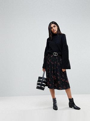 Vero Moda Tall Floral Printed Midi Skirt