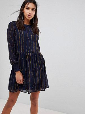 Y.a.s Shadow Print Shift Dress