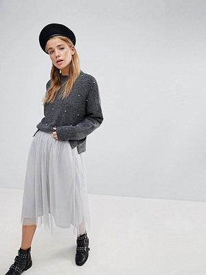 Pimkie Glitter Mesh Midi Skirt