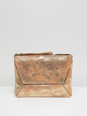 Oasis kuvertväska Fold Over Metallic Clutch