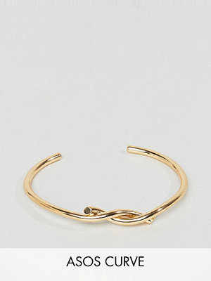ASOS Curve armband Interlocking Knot Cuff Bracelet