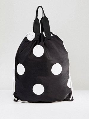 ASOS ryggsäck Polka Dot Drawstring Backpack