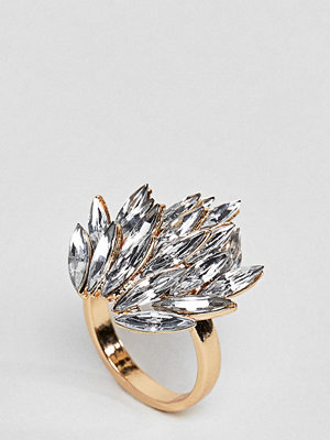 ASOS Curve Statement Jewel Ring