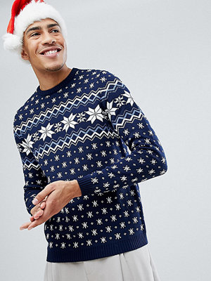 ASOS TALL Christmas Jumper With Snowflake Design