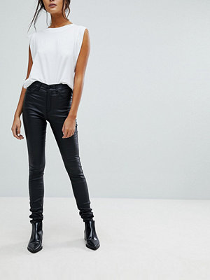 Dr. Denim Coated Mid Rise Superskinny Jeans