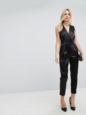 Closet London Premium Structured Tailored Jumpsuit