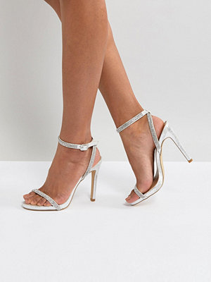 New Look Barely There Gem Straps Sandal