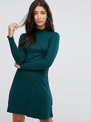 Brave Soul Julie High Neck Jersey Dress