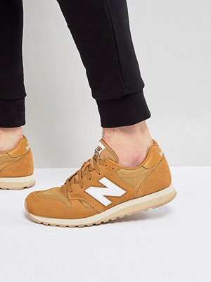 New Balance 520 Suede Trainers In Tan U520BF