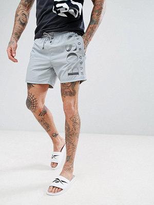 Badkläder - BOSS By Hugo Boss Octopus Swim Shorts in Grey