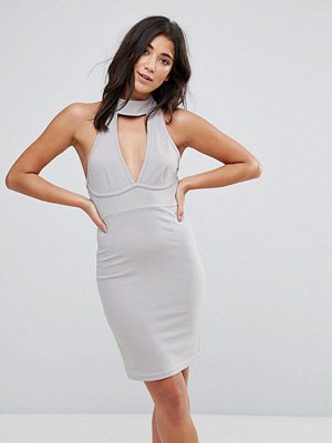Ax Paris Chocker Neck Bodycon Dress