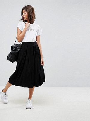 ASOS Midi Skirt with Box Pleats