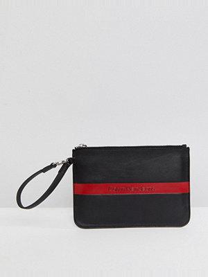 Calvin Klein kuvertväska Jeans Leather Logo Pouch
