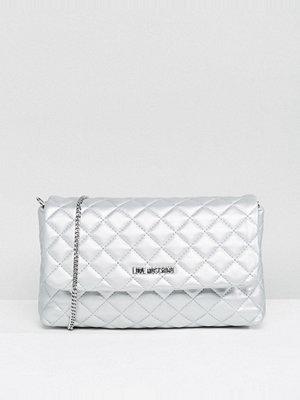 Love Moschino axelväska Metallic Quilted Shoulder Bag