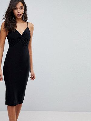 Club L Knot Front Slinky Cami Dress