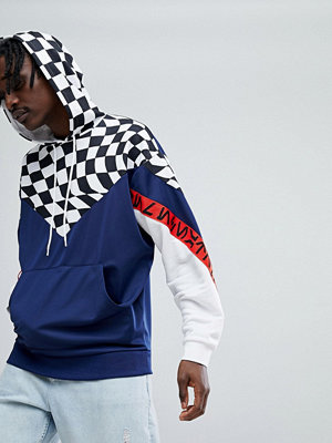 Street & luvtröjor - ASOS x Star Wars Oversized Hoodie With Checkerboard & Printed Tape