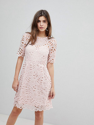 Warehouse Floral Lace Dress