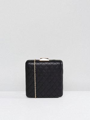 Claudia Canova kuvertväska Quilted Structured Clutch Bag