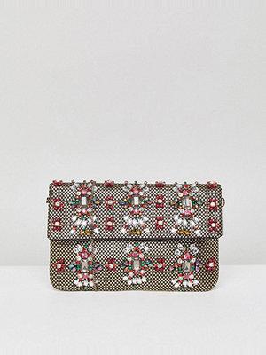 Park Lane kuvertväska Handmade Beaded Foldover Clutch Bag