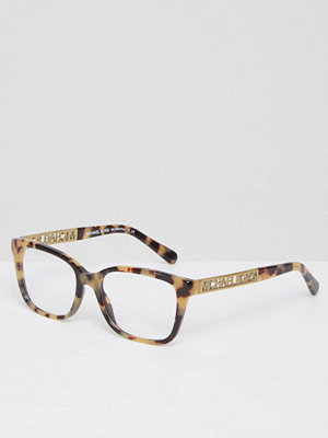 Michael Kors Square Frame Optical Clear Lens Glasses