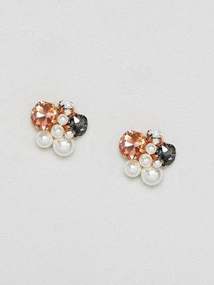 Aldo örhängen Jewelled Cluster Earrings