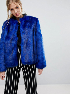 Bershka Faux Fur Jacket