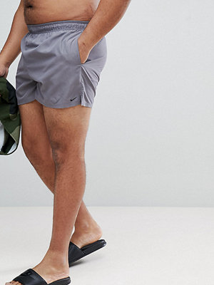 Badkläder - Nike Plus Volley Super Short Swim Short In Grey NESS8830-071