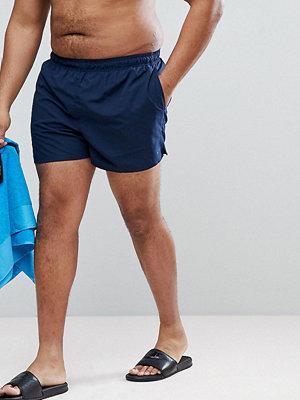 Badkläder - Nike Plus Volley Super Short Swim Short In Navy NESS8830-489