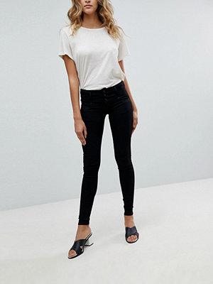 Salsa Mystery bum sculpt jeans med hög midja i smal passform