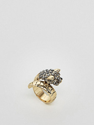Monki Jewel Encrusted Snake Ring