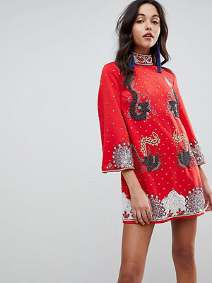 ASOS Edition In The Mood For Love Shift Mini Dress