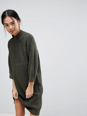 Noisy May High Neck Knitted Dress