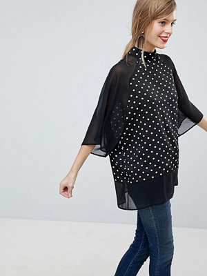 ASOS DESIGN Prickig och skir t-shirt i oversize-modell