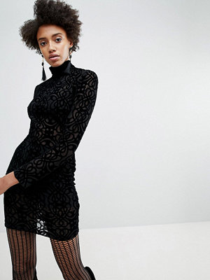 ASOS x Star Wars Funnel Neck Burnout Dress