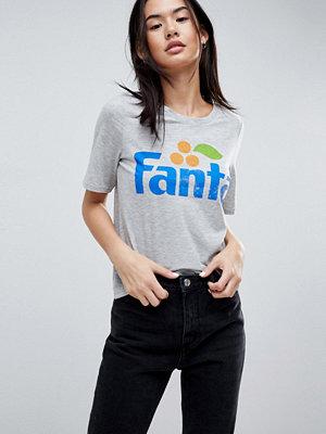 Only T-shirt med Fanta-slogan