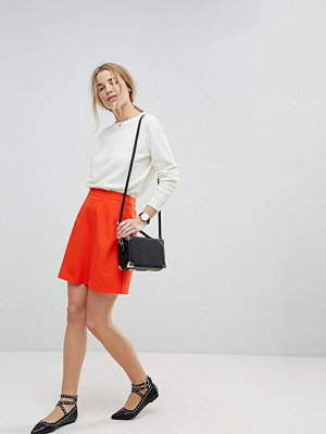 ASOS DESIGN Tailored A-linjeformad minikjol