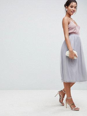 ASOS Mesh Midi Prom Skirt